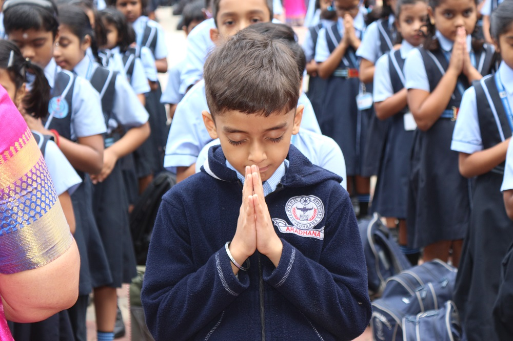 School Re Opening Day - Aradhana Academy