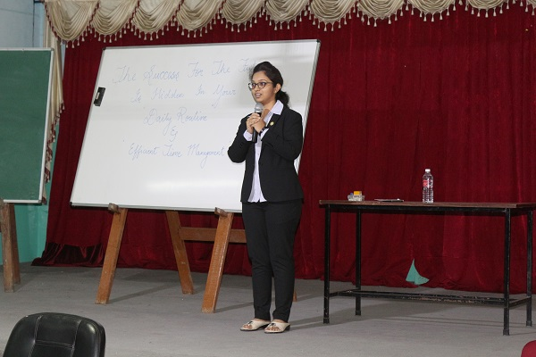 TIME MANAGEMENT A SESSION BY MS.MANYATHA - Aradhana Academy
